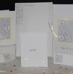 Heart Designs Wedding Stationery