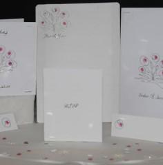 Flower Bouquet Wedding Stationery