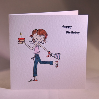A Gorgeous Handmade Birthday Card For A Young Lady Handmade By Helen