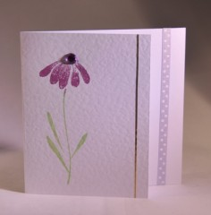 Daisy Flower Card