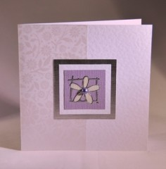 Floral Greetings Card