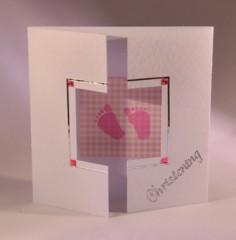 Baby Footprint Card