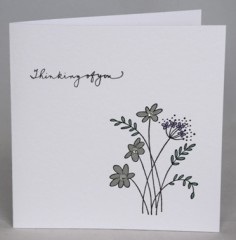 Thinking Of You Bereavement Card