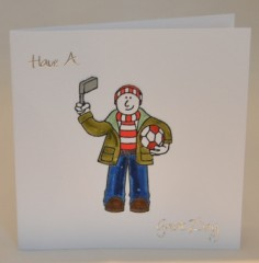 Football Fan Birthday Card