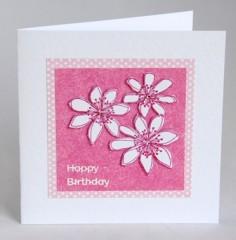 Fresh Flowers Birthday Card