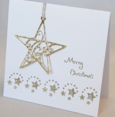 Stars In Your Eyes Christmas Card