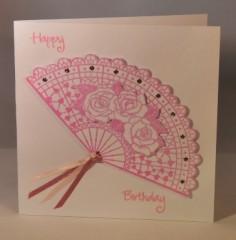 FAN BIRTHDAY CARD