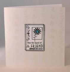 Hand Of A Friend Card