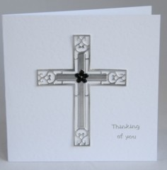 Sympathy Cross Card