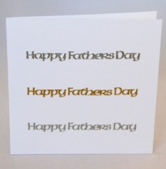 Celtic Words Fathers Day Card