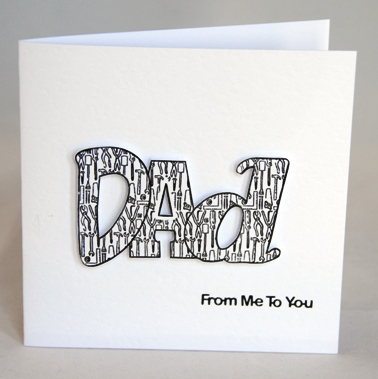 A clever handmade greetings card for a diy dad handmade by helen if ordering by phone please reference card 500 m4hsunfo