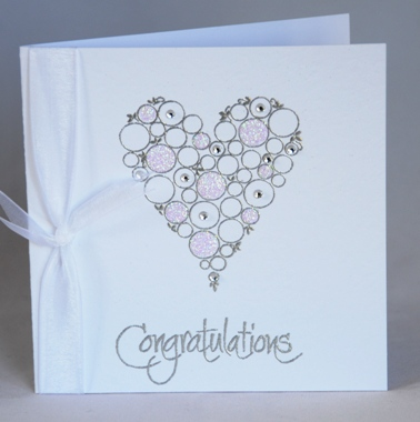 A Handmade Wedding Congratulations Card