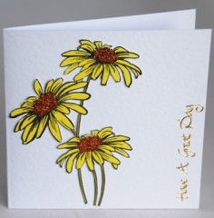 Bright Daisies Card