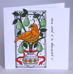 Partridge Card