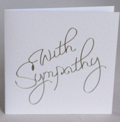 Sympathy Words Card
