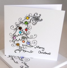 Snowy Tree Card Pack