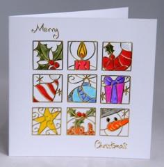Christmas Squares Card