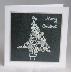 Frosty Tree Card