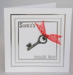 Santa's Magic Key Card