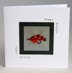 Salmon Fly Fishing Card