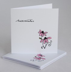 Pink Daisy Notecards