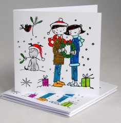Ready For Christmas Card Pack