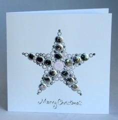 Bubble Star Card
