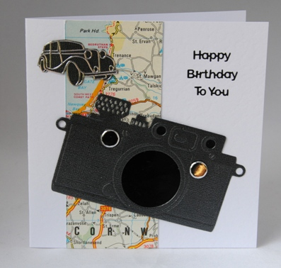 A Handmade Birthday Card For A Keen Photographer Handmade By Helen