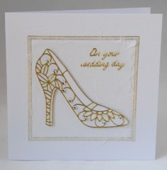 Wedding Shoes Card