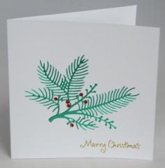 Christmas Berries Card