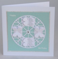 Butterfly Circle Card