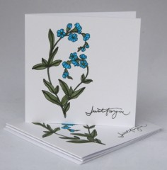 Forget-me-not Notecards