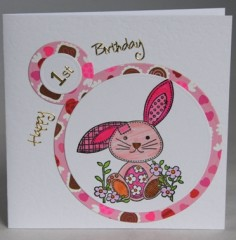 Pink Rabbit Card