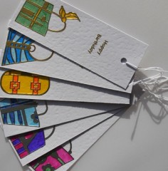 Handbag Birthday Gift Tags