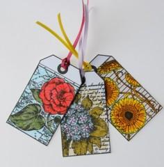 Vintage Floral Gift Tags