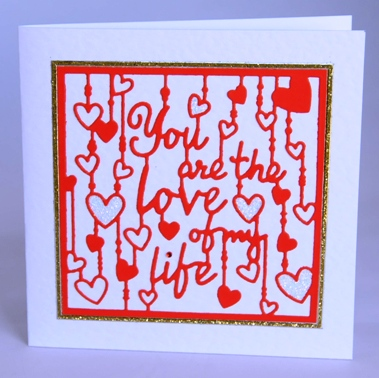 Love Of My Life Card
