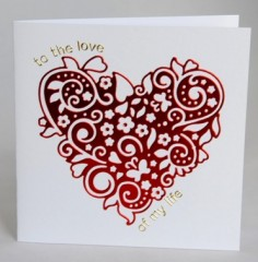 Flourish Heart Card
