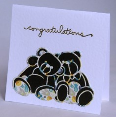Teddies Card