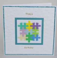 Jigsaw Birthday Card