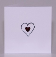 Words Of Love Card