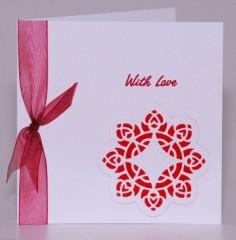 Lace Circle Card