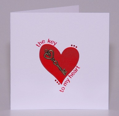 The Key To My Heart Card