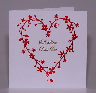 Loving Floral Heart