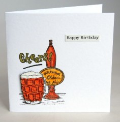 Cheers Birthday Card