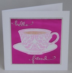 The Teacup Card