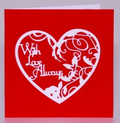 With Love Always Card