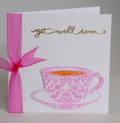 Get Well Cuppa Card