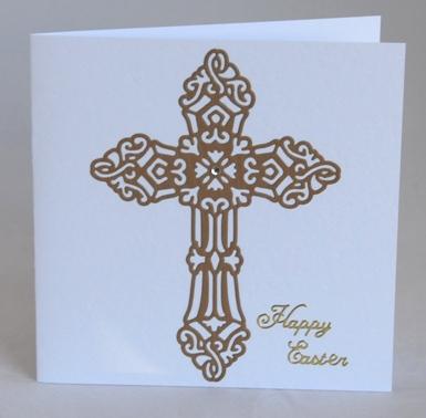 Ornate Easter Cross