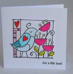 Just a little tweet card