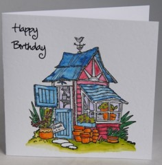 The Potting Shed Card